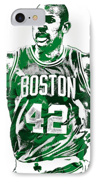 Al Horford Boston Celtics Pixel Art IPhone Case