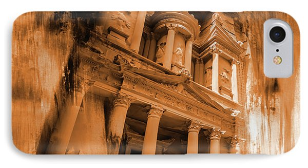 Al Khazneh Petra Jordan IPhone Case by Gull G