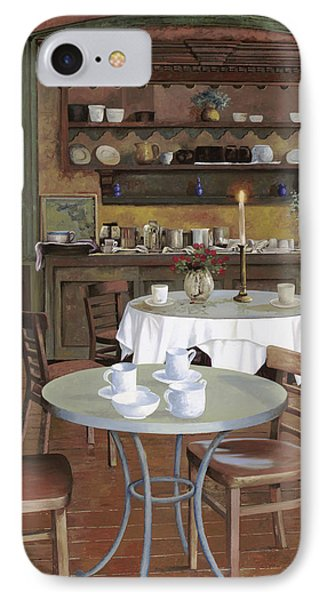 Al Lume Di Candela IPhone Case by Guido Borelli