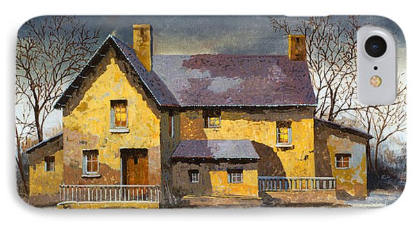 Al Mattino IPhone Case by Guido Borelli