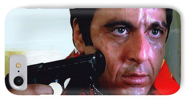Al Pacino @ Scarface #1 IPhone Case by Gabriel T Toro