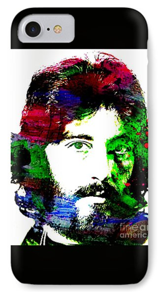 Al Pacino Abstract  IPhone Case by John Malone