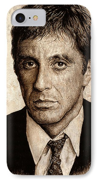 Al Pacino IPhone Case by Andrew Read