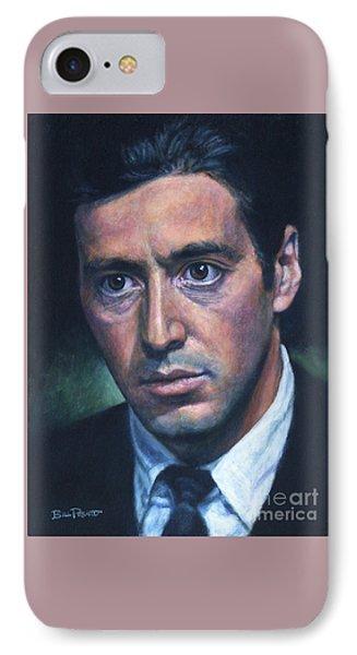 Al Pacino - Godfather 2 IPhone Case by Bill Pruitt