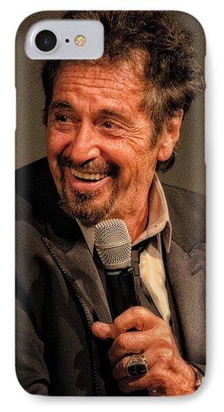 Al Pacino IPhone Case by Justin Harris