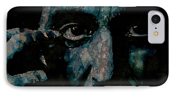Al Pacino IPhone Case by Paul Lovering