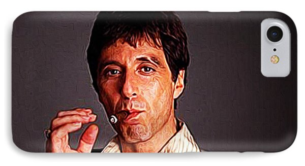 Al Pacino IPhone Case by Iguanna Espinosa
