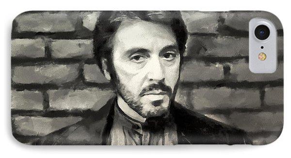 Al Pacino IPhone Case by Sergey Lukashin