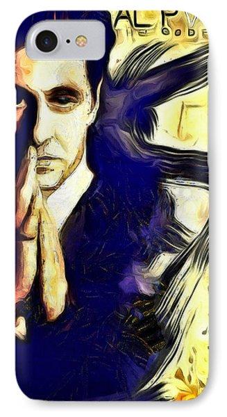 Al Pacino The Goodfather IPhone Case by Galeria Zullian  Trompiz