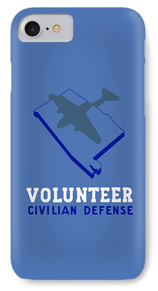 Alabama Civilian Defense - Wpa IPhone Case by War Is Hell Store