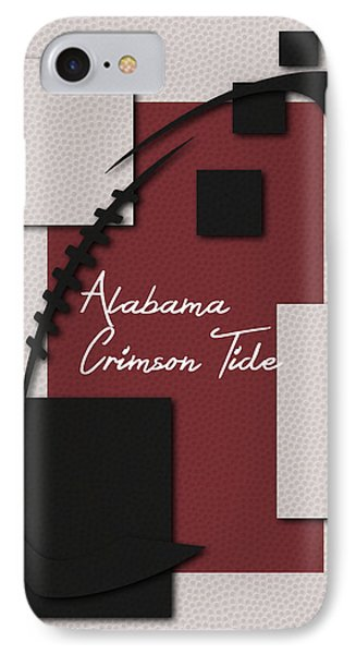 Alabama Crimson Tide Art IPhone Case