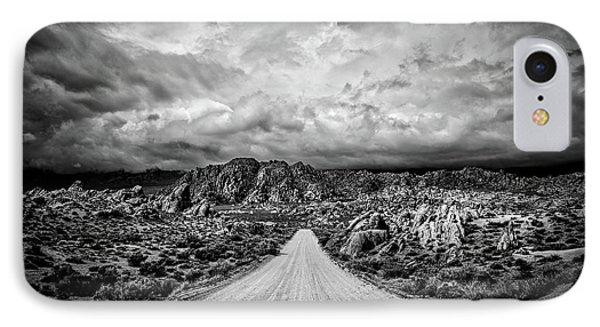 Alabama Hills California IPhone Case by Peter Tellone