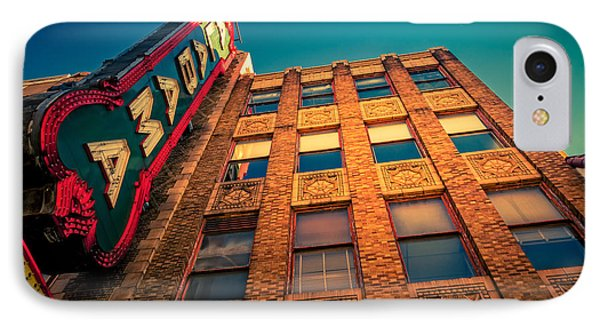 Alabama Theater Sign 2 Phone Case by Phillip Burrow