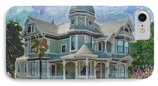 Alameda 1893  Queen Anne  IPhone Case