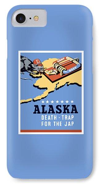 Alaska Death Trap IPhone Case
