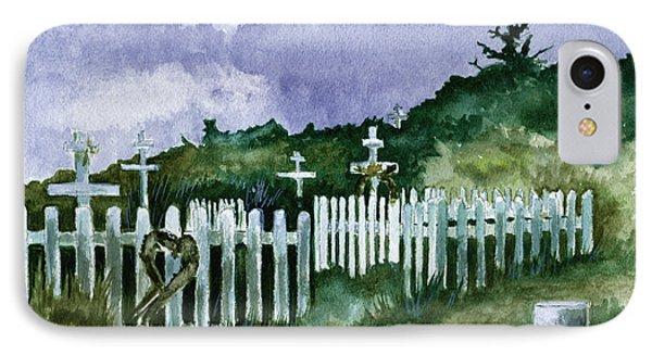 Alaska Graveyard  Phone Case by Brenda Owen