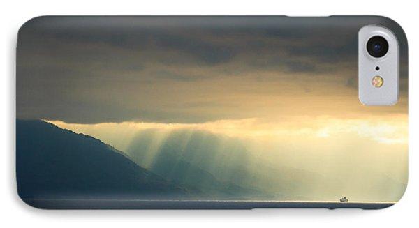 Alaska Inside Passage Under The Clouds IPhone Case by Joni Eskridge