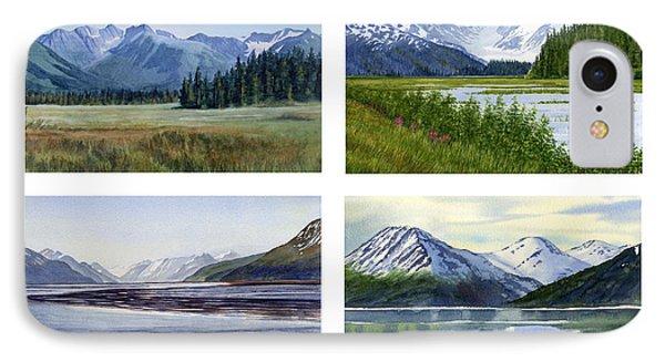 Alaska Landscape Poster 2 IPhone Case