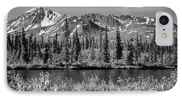 Alaska Mountains IPhone Case by Zawhaus Photography