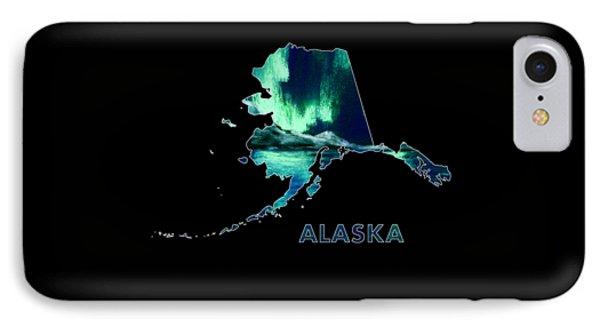Alaska - Northern Lights - Aurora Hunters IPhone Case by Anastasiya Malakhova