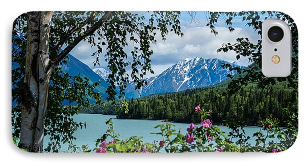 Alaska Through The Trees IPhone Case by John McArthur