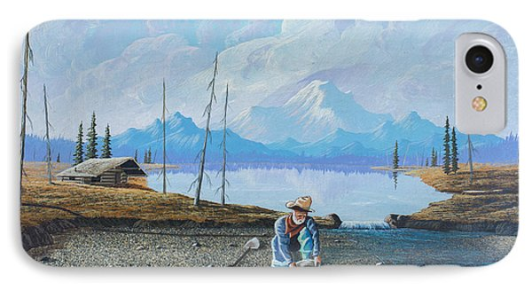 Alaskan Atm IPhone Case by Richard Faulkner