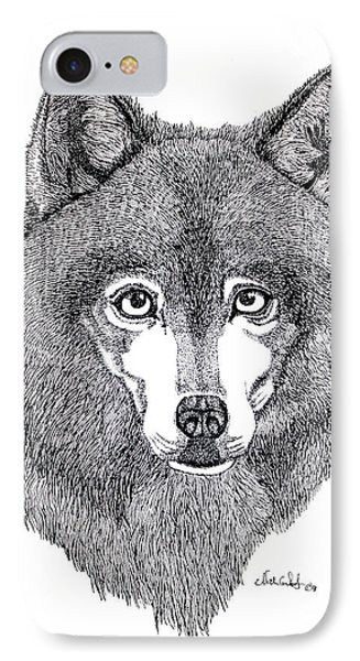 Alaskan Husky Phone Case by Nick Gustafson