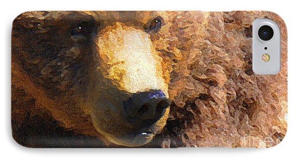 Alaskan Kodiak Bear IPhone Case