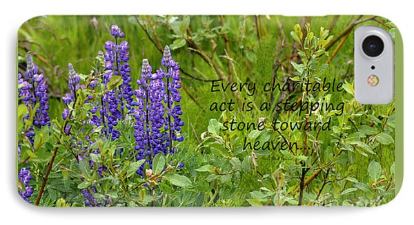IPhone Case featuring the photograph Alaskan Lupine Heaven by Diane E Berry