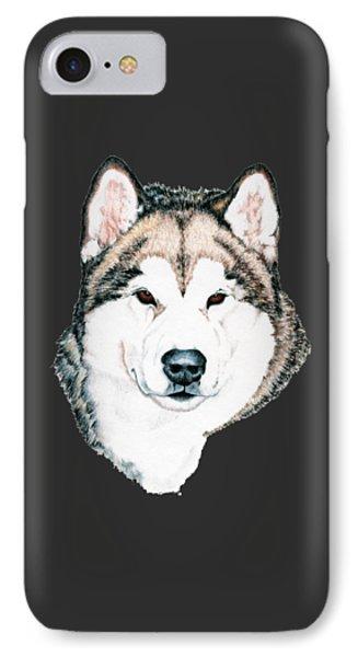 Alaskan Malamute IPhone Case by Kathleen Sepulveda