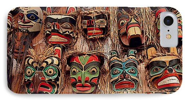Alaskan Masks IPhone Case