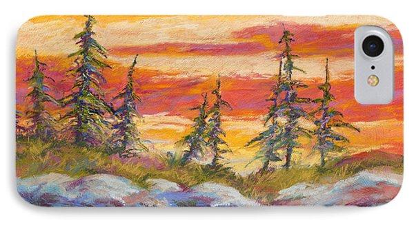 Alaskan Skies IPhone Case by Marion Rose