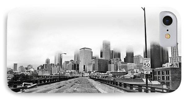 Alaskan Way Viaduct Downtown Seattle IPhone Case by Pelo Blanco Photo