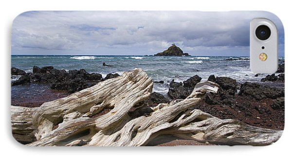 Alau Islet, Driftwood Phone Case by Ron Dahlquist - Printscapes