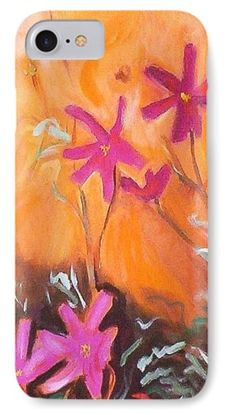 IPhone 7 Case featuring the painting Alba Daisies by Winsome Gunning
