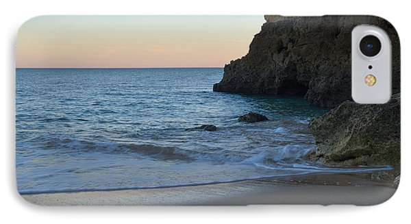 Albandeira Beach Welcoming Twilight 2 IPhone Case by Angelo DeVal