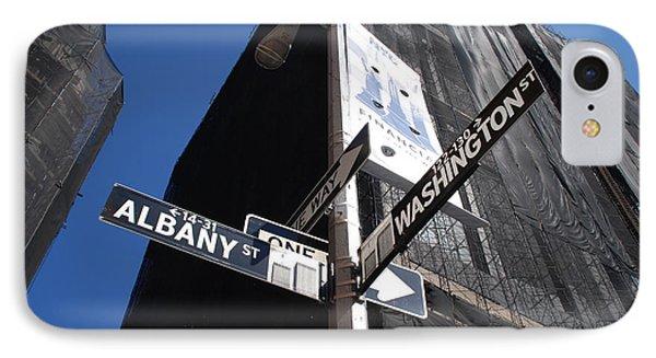 Albany And Washington Phone Case by Rob Hans