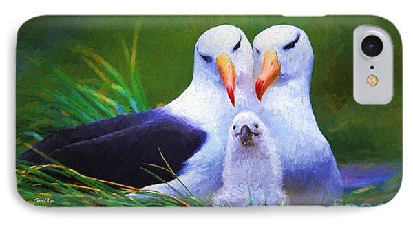 Albatross Family  IPhone Case
