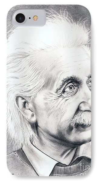 Albert Einstein  Phone Case by Murphy Elliott