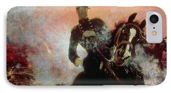 Albert I King Of The Belgians In The First World War IPhone Case by Ilya Efimovich Repin