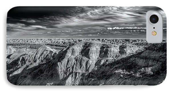 IPhone Case featuring the photograph Alberta Badlands by Wayne Sherriff