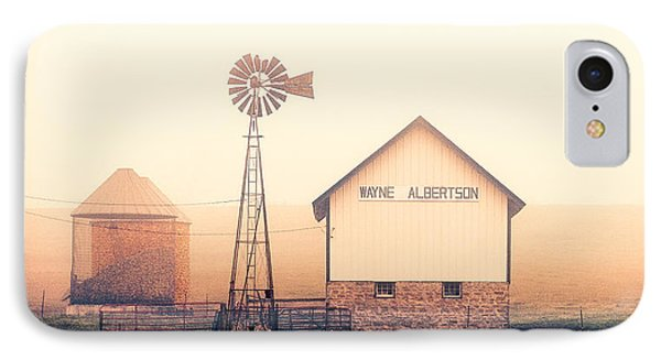 Albertson Farm IPhone Case by Todd Klassy