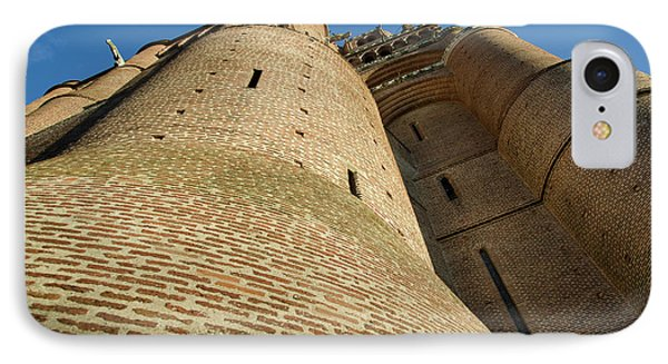 Albi Cathedral Low Angle IPhone Case by RicardMN Photography