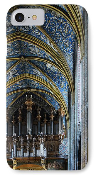 Albi Cathedral Nave IPhone Case by RicardMN Photography