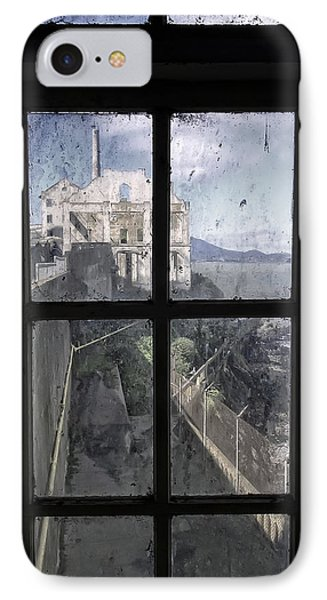 Alcatraz Escape Beach From Guard House IPhone Case