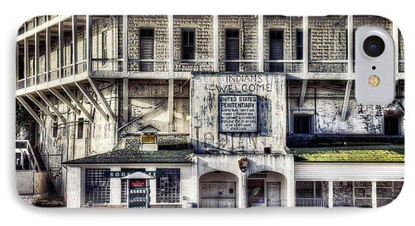 Alcatraz Island Building 64 IPhone Case by Jennifer Rondinelli Reilly - Fine Art Photography