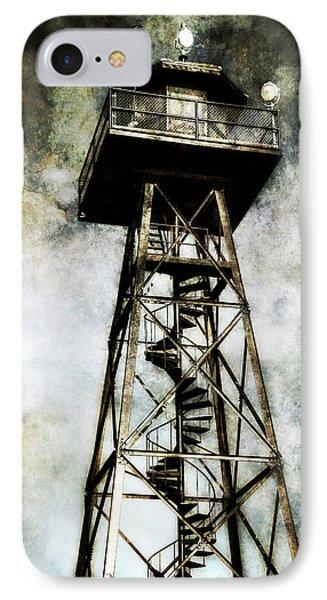 Alcatraz Island Guard Watchtower  IPhone Case