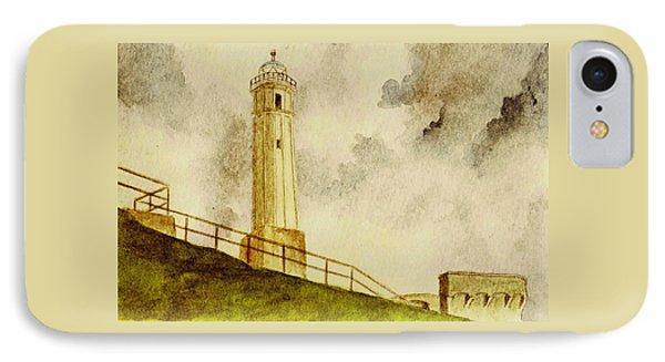 Alcatraz Island Lighthouse IPhone Case by Michael Vigliotti