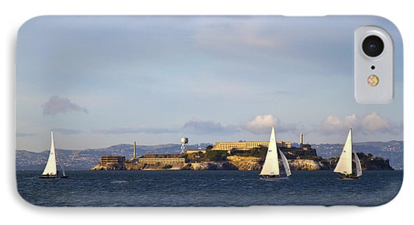 Alcatraz Island Prison In San Francisco Bay IPhone Case by ELITE IMAGE photography By Chad McDermott