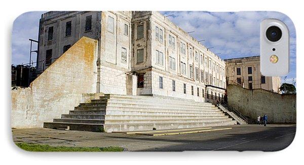 Alcatraz Prison Courtyard IPhone Case